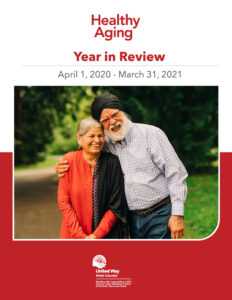 Healthy Aging – 2020-2021 Year in Review